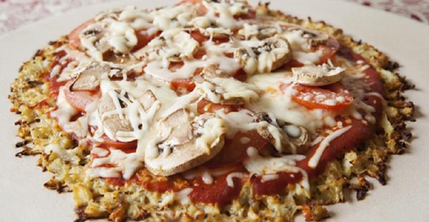 Deliciosa Pizza de coliflor